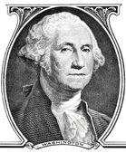 Portrait of president George Washington. — Stock Photo