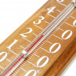 Stock Photo: Thermometer Closeup