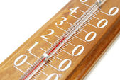 Thermometer Closeup — Stock Photo