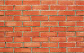 Red brick wall — Stock fotografie