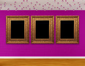 Gallery's hall — Fotografia Stock