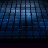 Empty cinema auditorium — Stock Photo