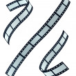 Film strip set — Stock Photo