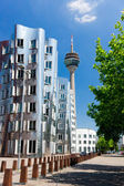 Medienhafen in Dusseldorf — Stock Photo