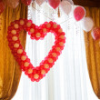 Stock Photo: Balloons at wedding