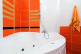 Beautiful big bath — Stock Photo