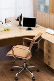 Monitors on a desk — Stock Photo