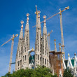 Sagrada Familia in Barcelona, Spain — Stock Photo