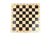 Wooden chess board — Stock Photo