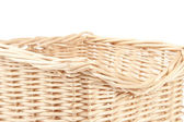 Empty wooden basket — Stock Photo