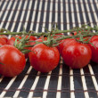 Stock Photo: Close-up photo of tomatoes