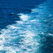 Ship trace on the water — Stock Photo #9458254