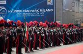 Parade of carabiners in Milan, June 2010 — Stock Photo