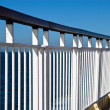 Stock Photo: Deck barrier