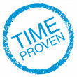 Time-Proven — Stock Vector #9843567