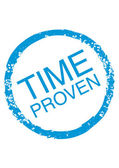 Time-Proven — Stockvektor