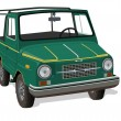 Cross-country vehicle — Image vectorielle