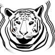 Royalty-Free Stock Vector Image: Tiger.