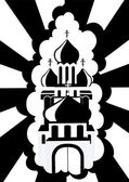 Kościół prawosławny — Wektor stockowy