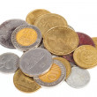 Sheqel coins - Stock Photo