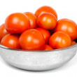 Tomatoes in a bowl - Stockfoto