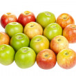 Stock Photo: Apples group