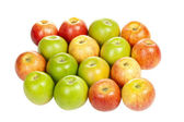 Apples group — Stock Photo
