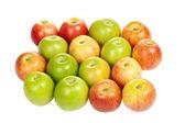 Gruppo di mele — Foto Stock