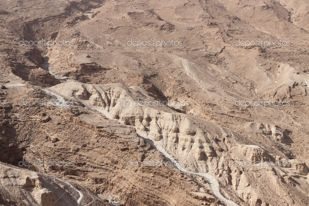 Panorama of a mounts in Israel — Stock Photo #8125981