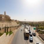 Traffic in Jerusalem — Stock Photo #8195793