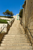 Jerusalems staircase — Stock Photo