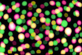 Defocused colorful lights — Stock Photo
