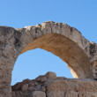 Stock Photo: Arch in Crusader Church, Bet Guvrin