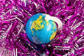 Canada on toy globe — Stock Photo