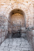 Arch in Crusader Church, Bet Guvrin — Stock Photo