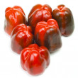 Stock Photo: Peppers family