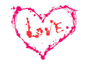 Serce valentine wektor — Zdjęcie stockowe