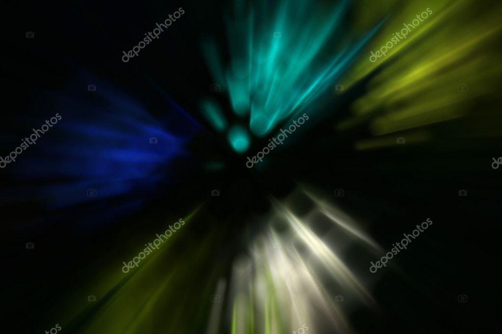 Magic Spotlights rays and glowing effect product advertising. — Stock Photo #9735594