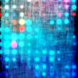 Abstract background blue bokeh circles — Stock Photo