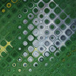Background with out of focus light dots in green — Zdjęcie stockowe #9810081