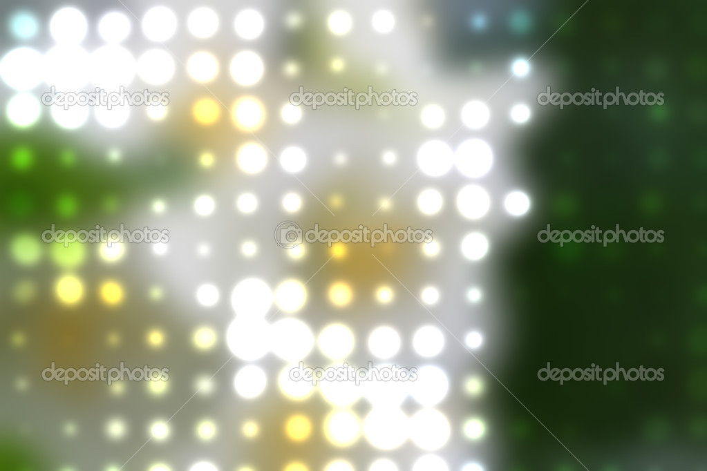 Colorful background illustration of colored dots and blur — Stock Photo #9810110