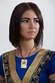 Woman in the image of Cleopatra — Stock Photo