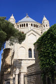 Dormition abbey, Jerusalem — Stock Photo