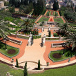 Bahai gardens, Israel - Stock Photo