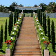 Bahai gardens, Israel — Stock Photo #10620614