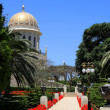 Bahai gardens, Israel — Stock Photo #10621262