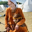 Medieval woman - Stock Photo