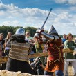 Knights fight — Stockfoto
