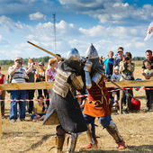 Knights fight — Stock Photo