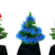 Foto Stock: Artificial fir